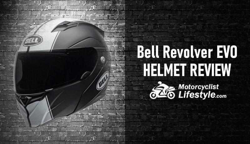bell revolver-evo motorcycle helmet review