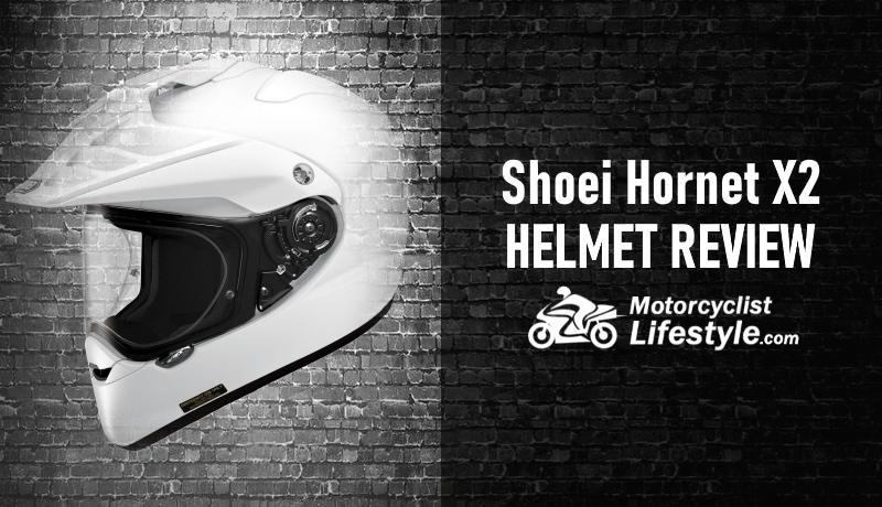 shoei hornet x2 adv motorcycle helmet review