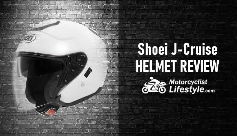 shoei j-cruise motorcycle helmet review