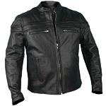 Hot Leathers Black Leather Jacket