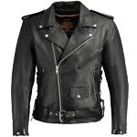Milwaukee Classic Leather Motorcycle Jacket