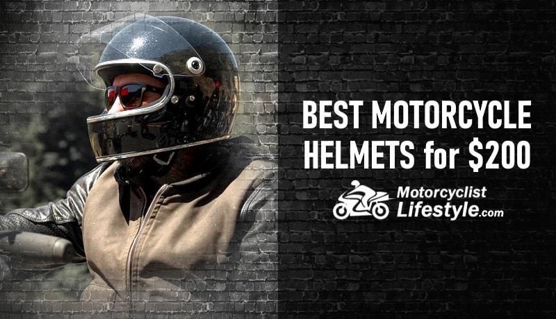 best motorcycle helmets under 200