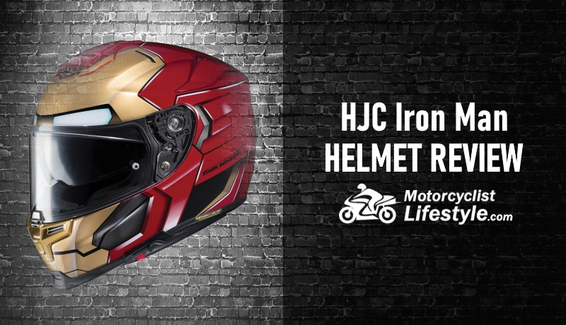 HJC RPHA 70 ST Marvel Iron Man Homecoming Helmet Red MC-1 Red, Small