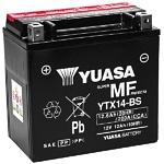 Yuasa YTX14-BS Maintenance Free Motorcycle Battery